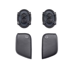 Harley-Davidson® Boom! Audio Stage II Saddlebag Speaker Kit 76000319B