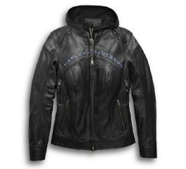 Harley-Davidson® Kenova 3-in-1 Leather Jacket 97034-19VW