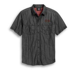 Harley-Davidson® Short Sleeve Woven Shirt 96764-19VM