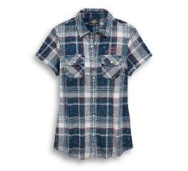 Harley-Davidson® Eagle Plaid Shirt 96861-19VW