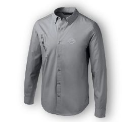 Harley-Davidson® Angled Pocket Stretch Shirt 96776-19VM