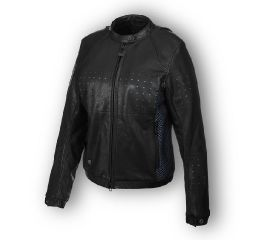 Harley-Davidson® Nashua Mesh & Perforated Leather Jacket 97046-19VW