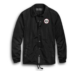Harley-Davidson® Loud & Fast Slim Fit Coach Jacket 97516-19VM