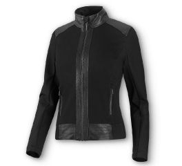 Harley-Davidson® Leather & Compression Knit Jacket 98403-20VW