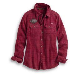 Harley-Davidson® Studded Plaid Shirt 99038-20VW