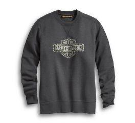 Harley-Davidson® Studded Logo Pullover Sweatshirt 99064-20VW