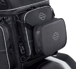 Harley-Davidson® Onyx Premium Luggage Rider Backrest Pad 93300125
