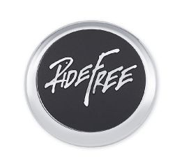 Ride Free Fuel Cap Medallion 14101220