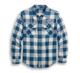 Harley-Davidson® Buffalo Plaid Camp Shirt 96007-20VM
