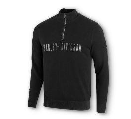 Harley-Davidson® Wind-Resistant 1/4-Zip Sweater 96024-20VM