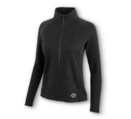 Harley-Davidson® Melange Compression Knit Jacket 96105-20VW