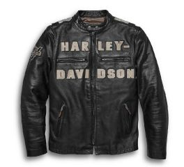 Harley-Davidson® Vintage Race-Inspired Leather Jacket 97000-20VM