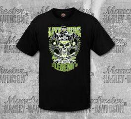 Harley-Davidson® Men's Black Jester Legend Short Sleeve Tee, RK Stratman Inc. R003233