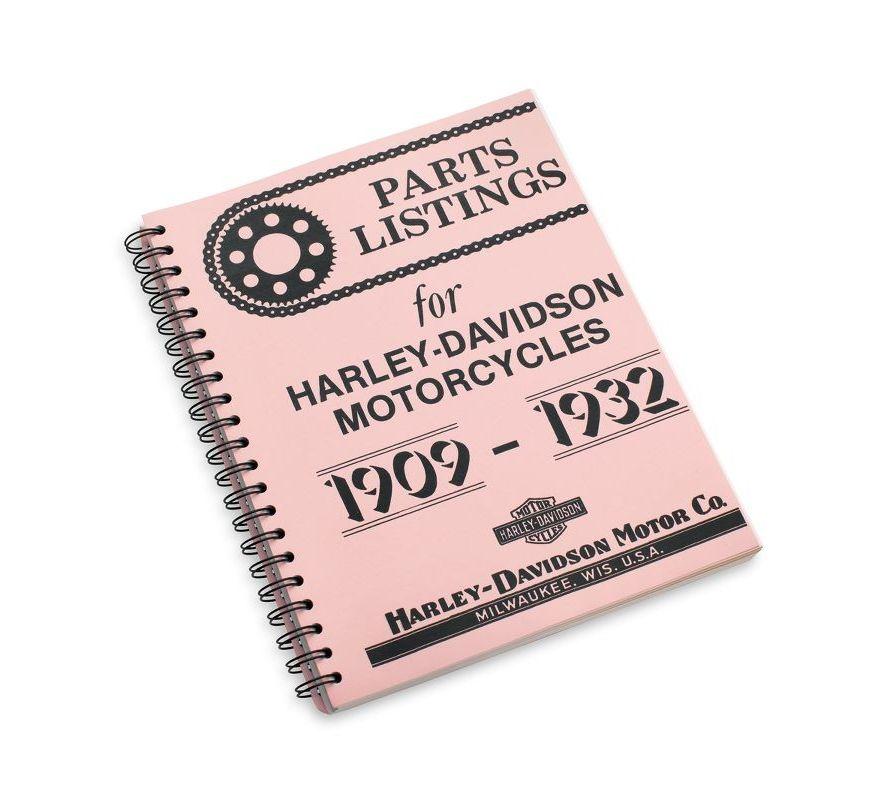 99404-93 | Harley-Davidson® 1909-1932 Parts Listing Manual ...