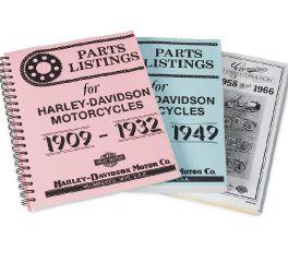 Harley-Davidson® 1930-1949 Parts Listing Manual 99406-93