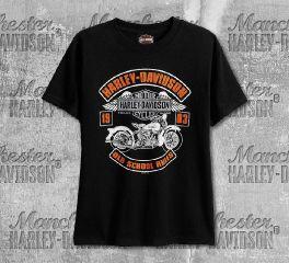 Harley-Davidson® Boys Black Rocked Short Sleeve Tee, RK Stratman Inc. R003081