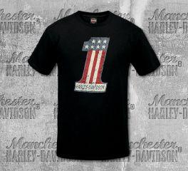 Harley-Davidson® Men's Black One H-D® Short Sleeve Tee, RK Stratman Inc. R003084