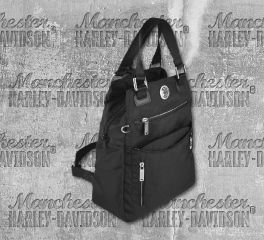 Harley-Davidson® Women's Multifunctional Handbag/Backpack, Leather Accessory Source WT8314S
