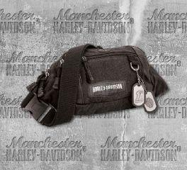 Harley-Davidson® Men's C4 Crossbody Waistpack Hip Bum Bag, Leather Accessory Source CC8182S