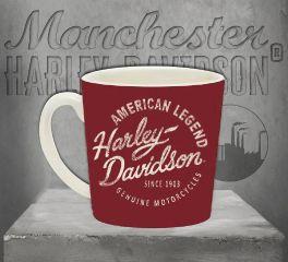 Harley-Davidson® Heritage Americano Ceramic Coffee Cup 3MH4908