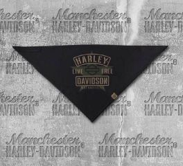 Harley-Davidson® Men's 3-in-1 Convertible Military Star Bandana, Global Products, Inc. BAC34394