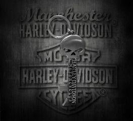 Harley-Davidson® Willie G Skull Skeleton Key Bottle Opener Key Chain, Global Products, Inc. KY12406