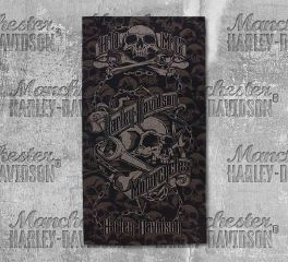 Harley-Davidson® Grim Skull Wrenches Multifunctional Headwear, Global Products, Inc. MHW34180