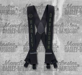 Harley-Davidson® Men's Military B&S® Suspenders, Global Products, Inc. SUS34330