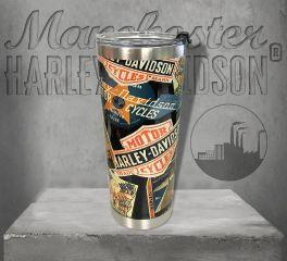 Harley-Davidson® Destination Textured Stainless Steel Travel Mug HDX-98622