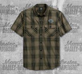 Harley-Davidson® Men's Winged Logo Short Sleeve Tee 96114-20VM