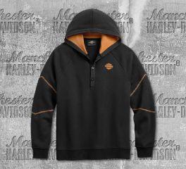 Harley-Davidson® Men's Dual Stripe Pullover Hoodie 96161-20VM