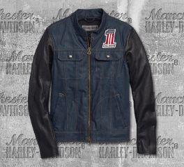 Harley-Davidson® Men's Arterial Denim Riding Jacket 98122-20EM