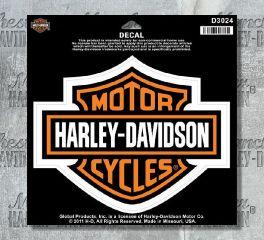 Harley-Davidson® Bar & Shield® Large Decal, Global Products, Inc. D3024