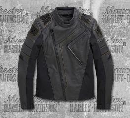 Harley-Davidson® Men's Watt Slim Fit Leather Jacket 98002-20EM
