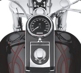 Harley-Davidson® Flush-Mount Fuel Cap & Gauge Kit 75027-08D