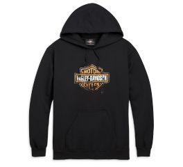 Harley-Davidson® Patina Bar & Shield Logo Pullover Hooded Sweatshirt 96490-20VM