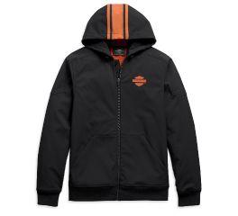 Harley-Davidson® Vertical Stripe Hooded Stretch Jacket 98408-20VM