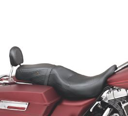 Harley-Davidson® Low-Profile Leather Bucket Seat 52918-98B