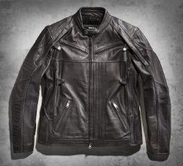 Harley-Davidson® Men's Boulder Leather Jacket 97179-14VM