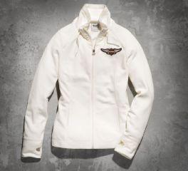 Harley-Davidson® Women's Winged Bar & Shield Logo Fleece Jacket 99154-14VW