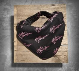 Harley-Davidson® Women's Pink Label Allover Print Headwrap 99402-14VW