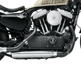 Harley-Davidson® Screamin' Eagle Jet Black Header Pipes 65600155