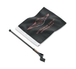 Harley-Davidson® 110th Anniversary Flag Kit 61400220