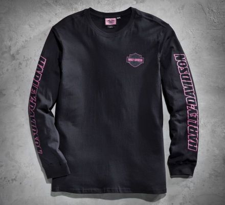 Harley-Davidson® Men's Pink Label Long-Sleeve Tee 99017-11VM