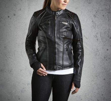 Harley-Davidson® Women's FXRG® Leather Jacket 98034-12VW