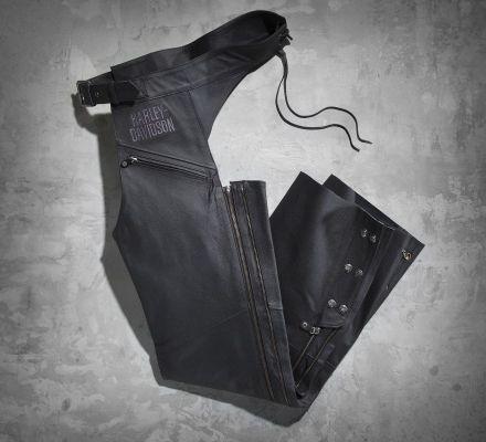Harley-Davidson® Men's Tradition Leather Chaps 98039-12VM