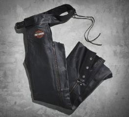Men's Stock Leather Chaps