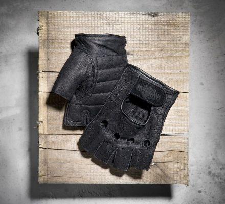 Harley-Davidson® Men's Fingerless Gloves 98150-94VM