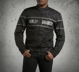Harley-Davidson® Men's Classic Cruiser Mesh Jacket 98248-09VM