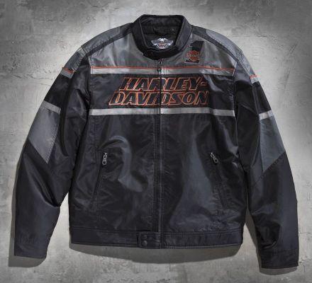 Harley-Davidson® Men's Rumble Nylon Jacket 98526-13VM